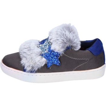 Zapatos Niña Zapatillas bajas Lulu sneakers gamuza sintética gris