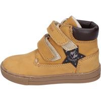 Zapatos Niño Botas de caña baja Lumberjack botines cuero nobuck amarillo