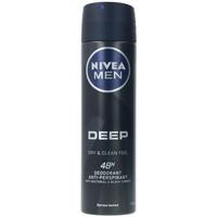 Belleza Hombre Desodorantes Nivea Men Deep Black Carbon Deo Vaporizador  150 ml