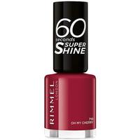 Belleza Mujer Esmalte para uñas Rimmel London 60 Seconds Super Shine 710-oh My Cherry 8 ml