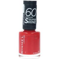 Belleza Mujer Esmalte para uñas Rimmel London 60 Seconds Super Shine 714-a Spritzzz  8 ml