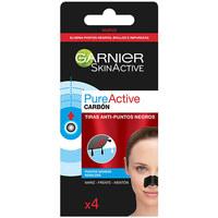 Belleza Hidratantes & nutritivos Garnier Pure Active Carbon Tiras Anti-puntos Negros  4 uds