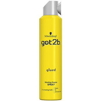 Belleza Acondicionador Schwarzkopf Got2b Glued Blasting Freeze Spray  300 ml
