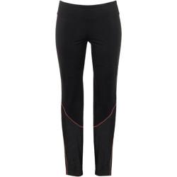 textil Mujer Leggings Lisca Energía  Mejilla Deportiva Mallas negras Pearl Black