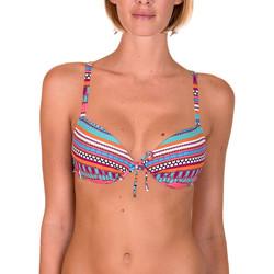 textil Mujer Bañador por piezas Lisca Capri  traje baño coral push-up Encaje Blanco