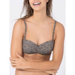 textil Mujer Bañador por piezas Beachlife Cheetah  Bandeau Traje de baño Top Lila