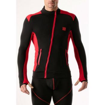 textil Hombre Sudaderas Code 22 Chaqueta de compresión Código 22 Pearl Black