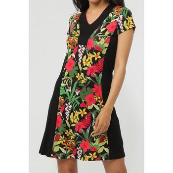 textil Mujer Vestidos cortos Admas Vestido de playa  Hawaiano Verde