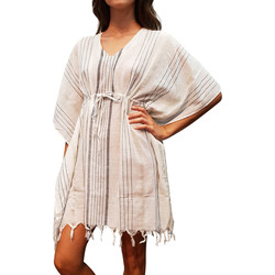 textil Mujer Túnicas Lascana Túnica de playa Ibiza Amarillo