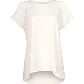 textil Mujer Tops / Blusas Lisca Camiseta de manga corta Timeless Cheek by Amarillo