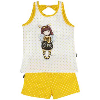 textil Niña Pijama Admas Pijamas y pantalones cortos Bee-Loved Santoro London Caqui