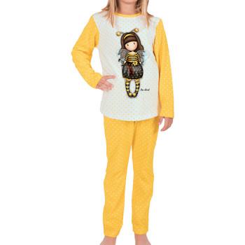 textil Mujer Pijama Admas Bee-Loved pijama top y pantalones Santoro London Caqui