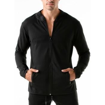 textil Hombre Sudaderas Code 22 Camuflaje urbano Código 22 Chaqueta deportiva Pearl Black