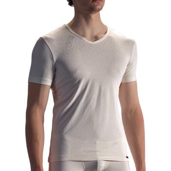 textil Hombre Camisetas manga corta Olaf Benz Camiseta PEARL1858 Amarillo