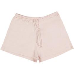 textil Mujer Pijama Admas Ropa de interior pijamas pantalones cortos camisetas tirantes Encaje Blanco