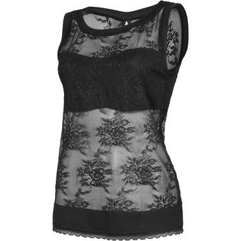 textil Mujer Tops / Blusas Lisca Eternidad de la tapa del tanque negro Pearl Black
