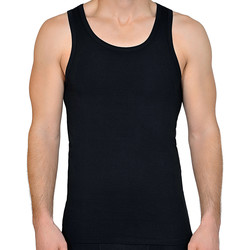 textil Hombre Camisetas sin mangas Lisca Camiseta de hombre Apolon Pearl Black
