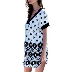 textil Mujer vestidos cortos Admas Vestido de playa Surfs Blanco