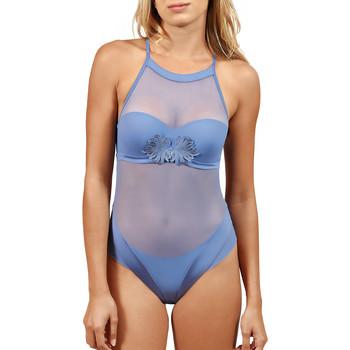 Ropa interior Mujer Body Lisca Cuerpo Preformado de  Sofisticada Azul