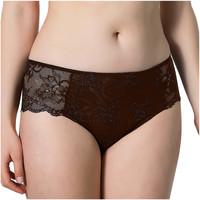 Ropa interior Mujer Shorty / Boxer Luna de Miel en cortocircuito Chocolate/naranja