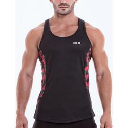 textil Hombre Camisetas sin mangas Code 22 Camo Tank Top Code22 Pearl Black