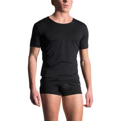textil Hombre Tops y Camisetas Manstore Camiseta de manga corta M103 Pearl Black