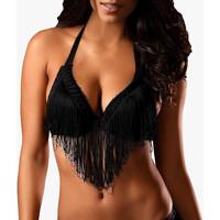 Ropa interior Mujer Triángulo/Sin Aros Lascana Sujetador de flexión  sexy Pearl Black