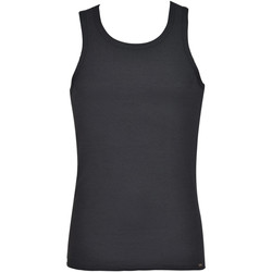 textil Hombre Camisetas sin mangas Lisca Camiseta de hombre Zeus Pearl Black
