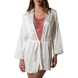 textil Mujer Pijama Luna Kimono Prestige de Amarillo