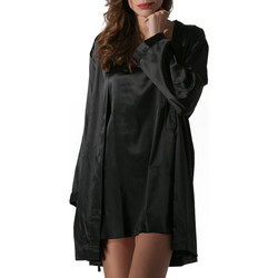 textil Mujer Pijama Luna Kimono Prestige de Pearl Black