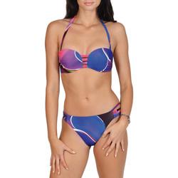 textil Mujer bikini Lisca Alanya  Juego de 2 piezas para la cabeza Púrpura/naranja