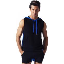 textil Hombre Camisetas sin mangas Code 22 Sweet Hoody Sleeveless Sport Code22 Pearl Black