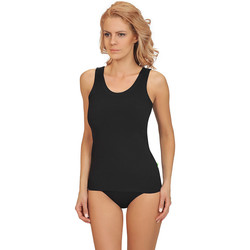 textil Mujer Pijama Lisca Aura  camiseta algodón Pearl Black