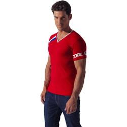 textil Hombre Camisetas manga corta Code 22 Camiseta deportiva asimétrica Código 22 Arena
