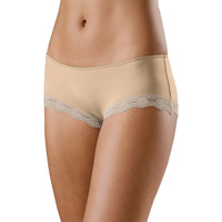 Ropa interior Mujer Shorty / Boxer Lascana Microfibra Shorty Perfect Basic Ciruela