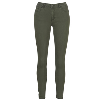 textil Mujer pantalones con 5 bolsillos Vero Moda VMSEVEN Kaki