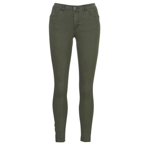 Vero Moda VMSEVEN Kaki - Envío gratis | ! - textil pantalones con 5 bolsillos Mujer