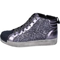 Zapatos Niña Zapatillas altas Holalà BR385 gris