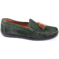 Zapatos Hombre Mocasín Purapiel 58846 GREEN