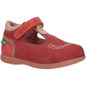 Zapatos Niña Derbie & Richelieu Kickers 413124-10 BABYFRESH Rojo