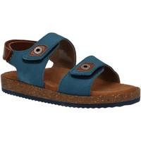 Zapatos Niño Sandalias Kickers 694900-30 FIRST Azul