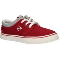 Zapatos Niños Zapatillas bajas Dunlop 35396 Rojo