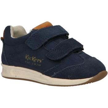 Zapatos Niño Multideporte Kickers 664580-10 KICK 18 BB Azul