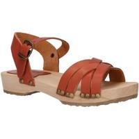 Zapatos Niña Sandalias Kickers 703580-30 SOLAR Marr?n