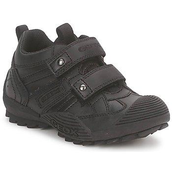 Zapatos Niño Zapatillas bajas Geox SAVAGE A Negro