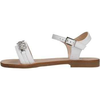 Zapatos Niña Sandalias Moda Positano - Sandalo bianco B3/19 BIANCO