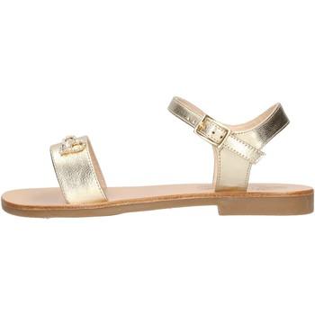 Zapatos Niña Sandalias Moda Positano - Sandalo platino B4/19 PLATINO