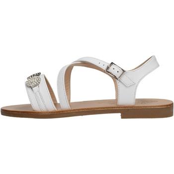 Zapatos Niña Sandalias Moda Positano - Sandalo bianco B14/19 BIANCO