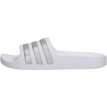 Zapatos Niño Zuecos (Mules) adidas Originals - Adilette bianco F35555 BIANCO