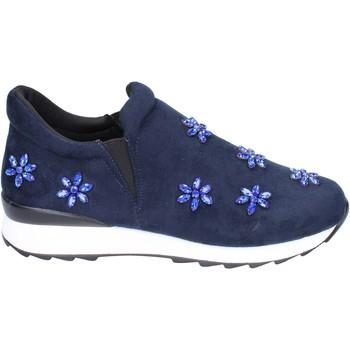 Zapatos Niña Slip on Holalà BR386 azul